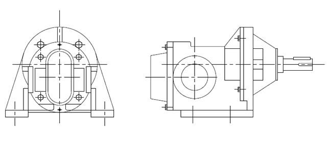 GEAR PUMPS-Drawing